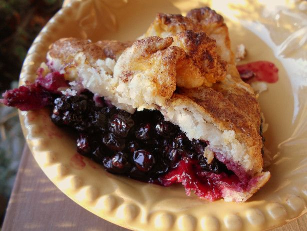 Garden Huckleberry Pie Recipe - Food.com