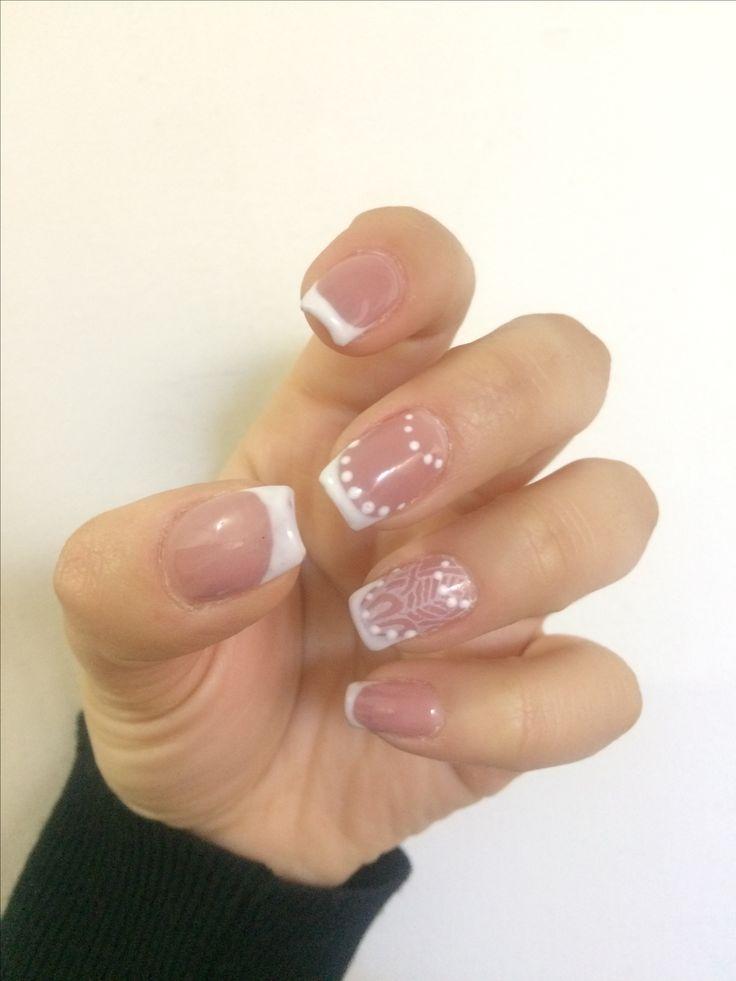French nails  Boho french nails
