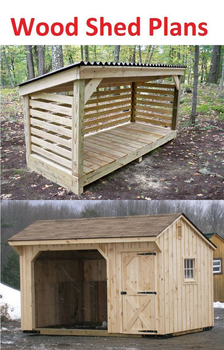 Wood Shed Plans And Instructions Wood Shed Plans Wood Shed Shed