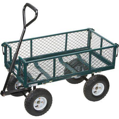 Northern Tool U0026 Equipment Steel Cart U2013 34in.L X 18in.W, 400