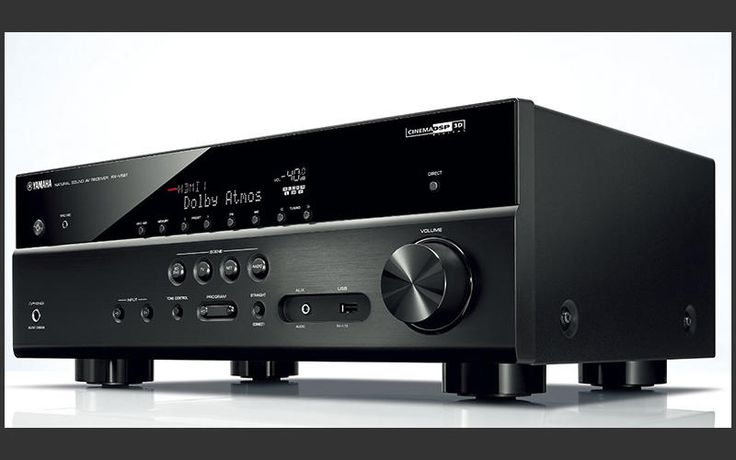 This Yamaha AV amp is definitely one to put on your home cinema shortlist