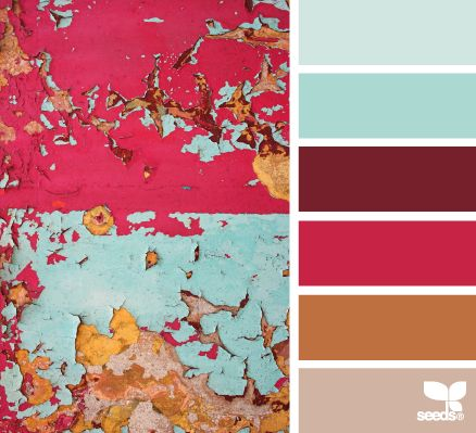 eroded hues - design seeds