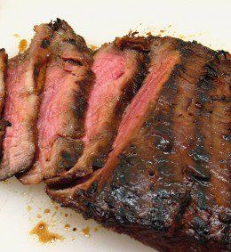 By marinating a blade steak before cooking it will come out juicy and tender.