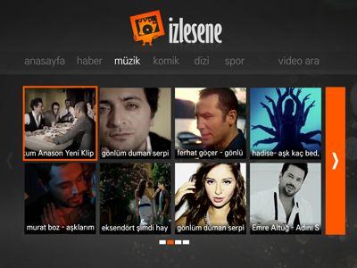 izlesene smart tv app for lg by Mustafa