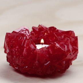 Pour maître vos bougie récipient comme du crystal