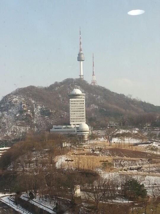 N tower. Namsan. Seoul. Korea