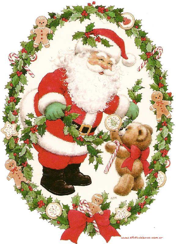 Ruth Morehead Christmas   SANTA CLAUS IS COMING DOWN THE CHIMNEY TONIGHT villancico Navidad ...
