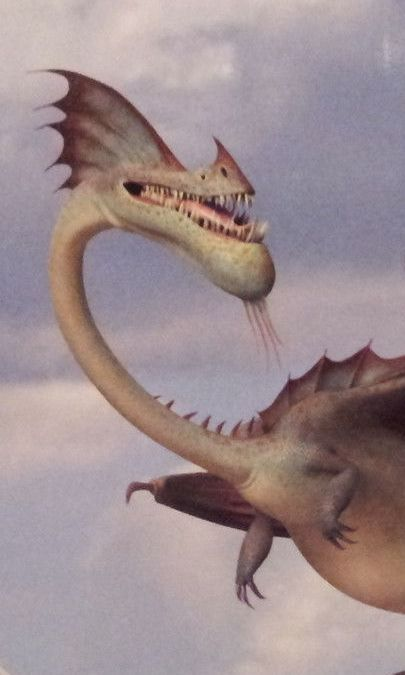 how to train your dragon list of dragons