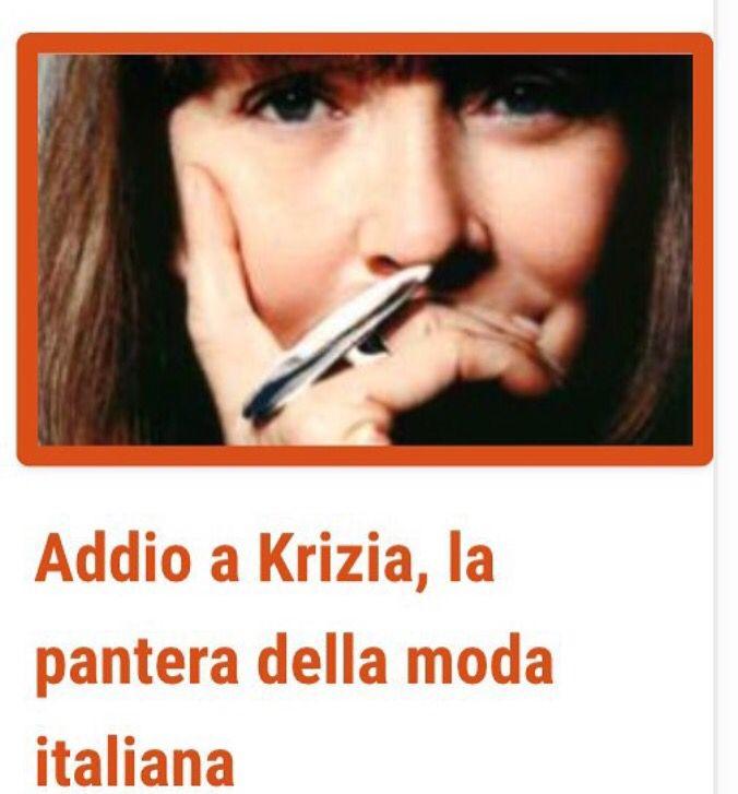 http://www.milanofree.it/201512076867/milano/moda/addio_a_krizia_la_pantera_della_moda_italiana.html  #krizia #addio