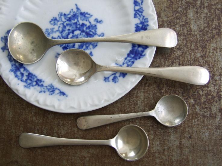 188 Best Salt Spoons Amp Old Salt Cellars Images On