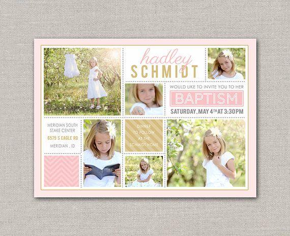 35 best Baptism Invitations images on Pinterest Baptism - invitation for baptism girl