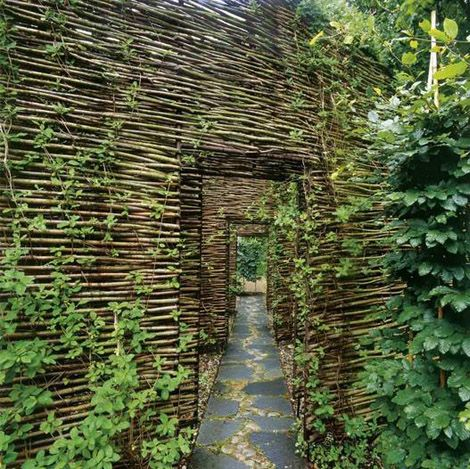 Wood walls