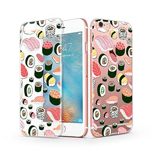 iPhone 6s Case, Cute iPhone 6 Case, MOSNOVO Yummy Sushi D…
