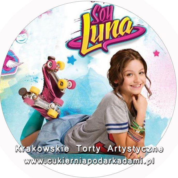 091. Fototort z Soy Luną. Soy Luna photocake.
