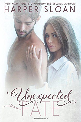 Unexpected Fate by Harper Sloan.  Cover image from amazon.com.  Click the cover image to check out or request the romance kindle.