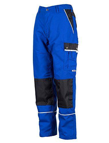 TMG® - Pantalon de travail cargo/de plombier - résistant - homme - bleu roi (W44 R / EU60): Cet article TMG® - Pantalon de travail cargo/de…