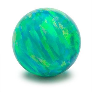 Faux Green Opal Marble-Opals are believed to be mirrors into one's mind and emotions. They are considered to be powerful stones for transformation and manifestation, and should be used with an awareness of their intensity. Green opals represent peace and abundance from within.