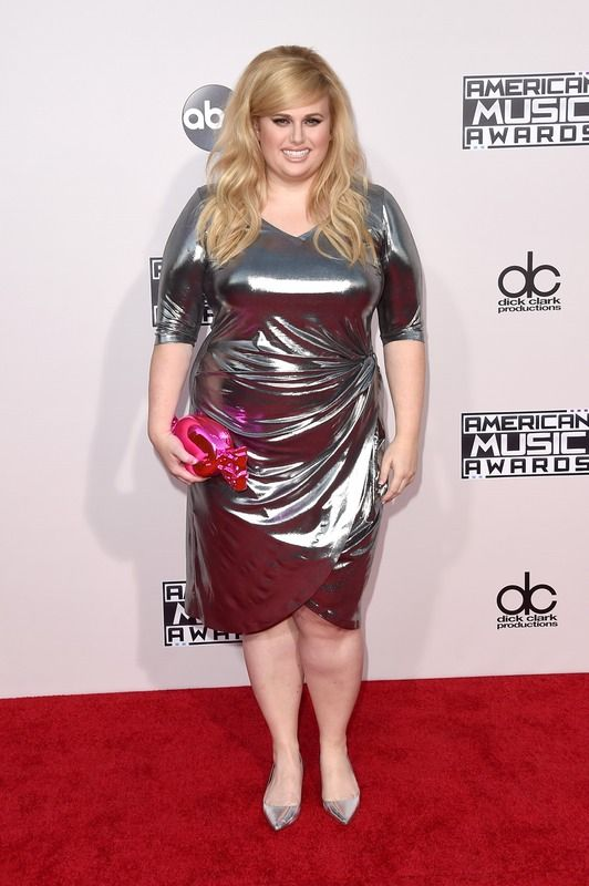 Rebel Wilson's 2015 AMAs Dress From Eloquii Is Ridiculously Affordable — PHOTOS