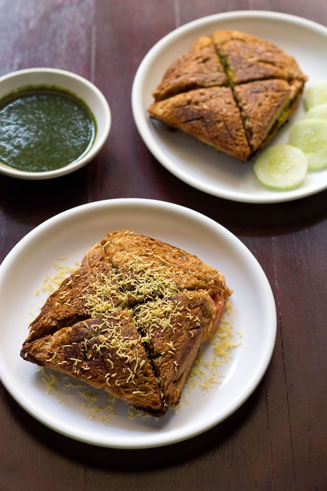 veg masala toast sandwich, easy veggie toast sandwich recipe