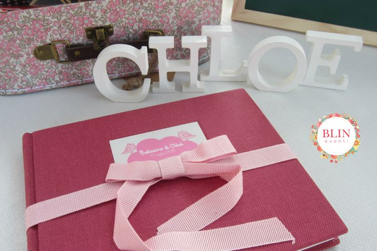 Guestbook Battesimo Baby by Blin Eventi www.blineventi.it