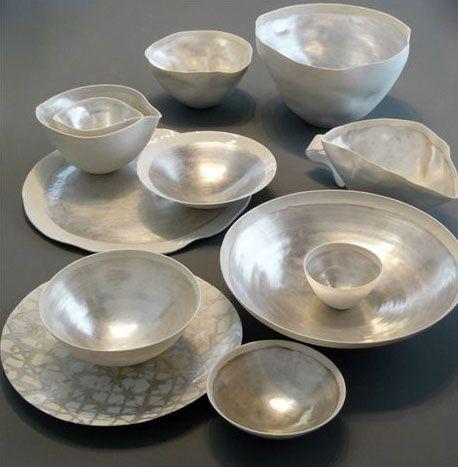 Pearlescent ceramics by Studio Potomak...delicious