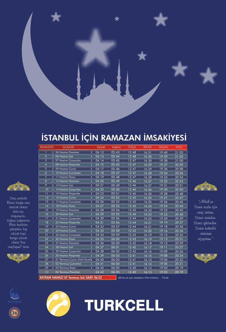 İMSAKİYE26