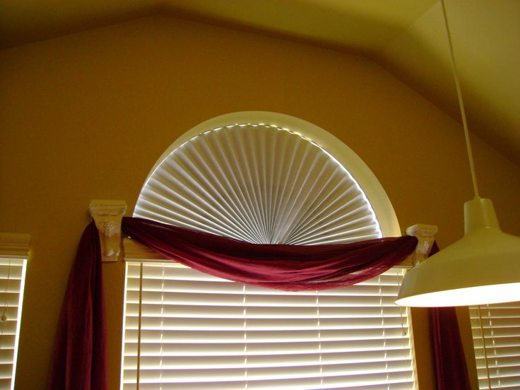 Curtains Ideas curtains for half moon windows : 17 best ideas about Half Circle Window on Pinterest | Arched ...