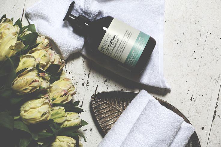 Cosmetics photography, healthy scalp