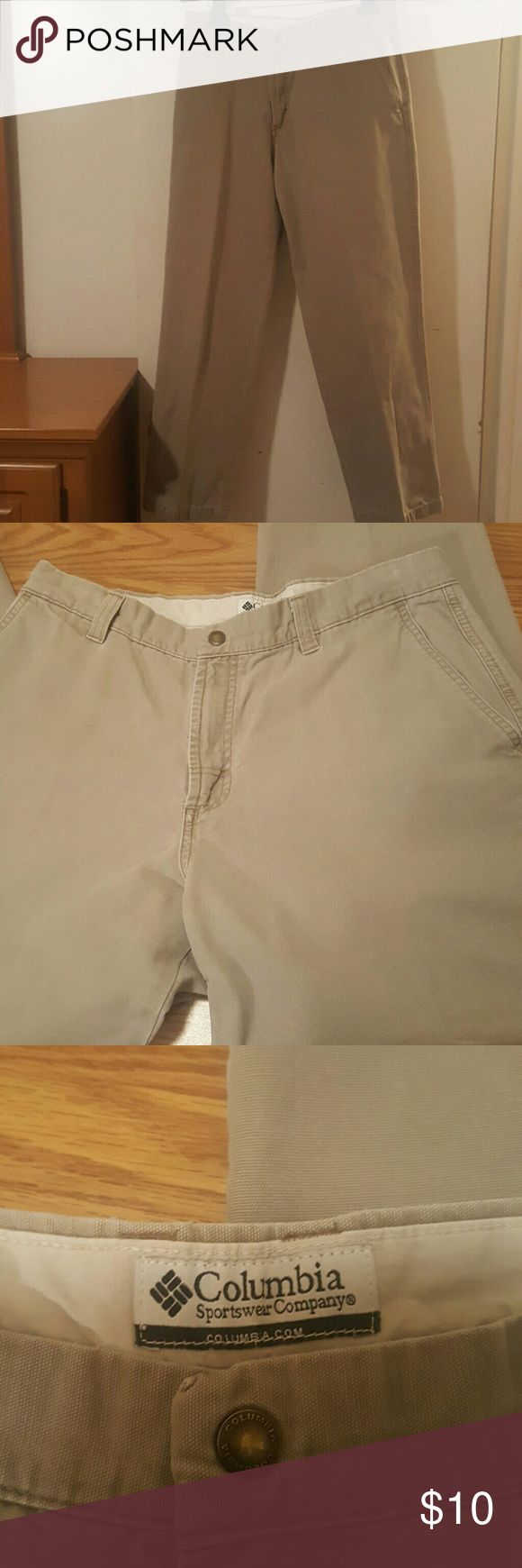 Men's Khaki Pants Men's Columbia Sportswear Company  33x32 ...100% Cotton Columbia Sportswear Company  Pants Chinos & Khakis