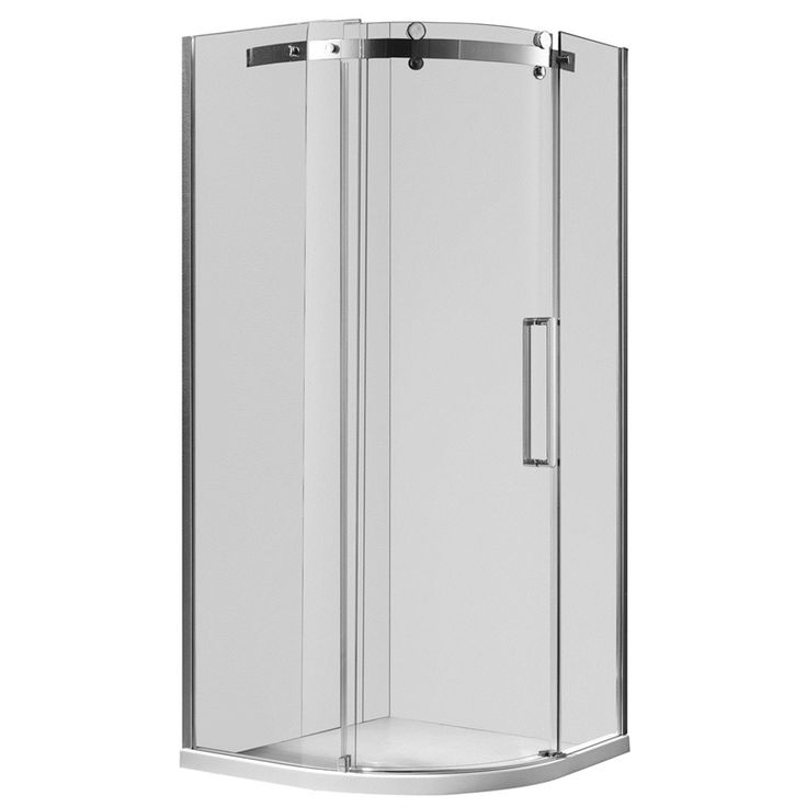 $1025 + gst 1000 x 1000 x 2000mm Curved Euro Frameless Shower Screen & Base - LEFT HAND at Bunnings Warehouse. Visit your local store for the widest range of bathroom & plumbing products.
