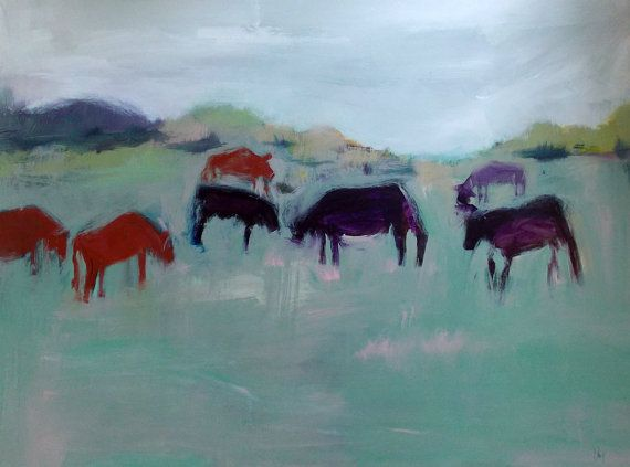 Cows Paintings Images