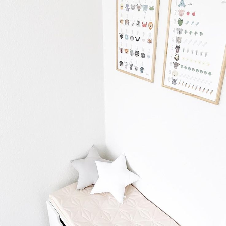 Both the ABC poster and the 123 poster is A perfect gift for the coming school children ☁️ photo: @elisabethsoendertoft