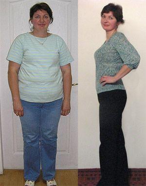 Я похудела на 35 кг!