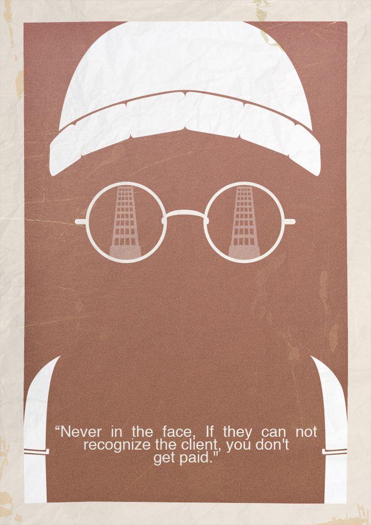 León Minimalist Poster