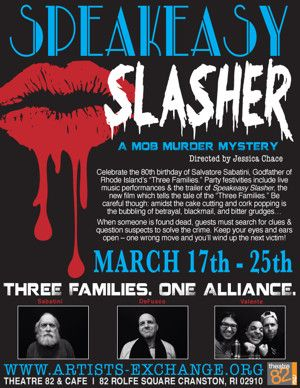 Artists' Exchange to Present Interactive Mob Murder Mystery SPEAKEASY SLASHER