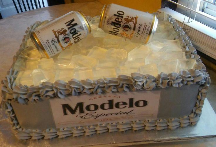 Modelo beer cake decoration