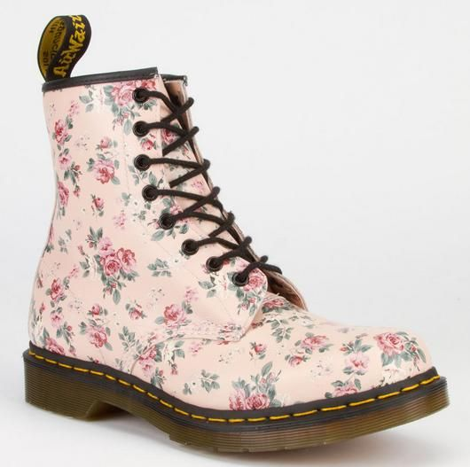 The Coolest Spring Boots in Stores Right Now - DR. MARTENS 1460 Women's Boots, $129.99; at Tilly's