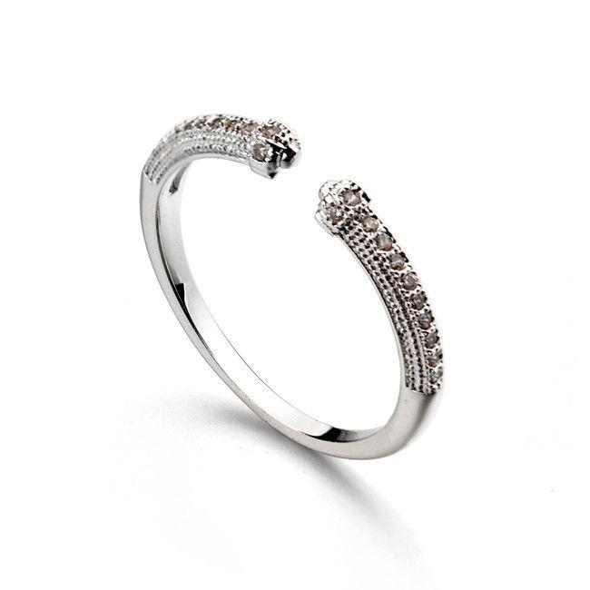 Italina ра простое кольцо с AAA циркон открытое кольцо ювелирные изделия из белого золота горячая распродажа на alibaba выражать турция-Ювелирные изделия из цинкового сплава-ID товара::60361121463-russian.alibaba.com