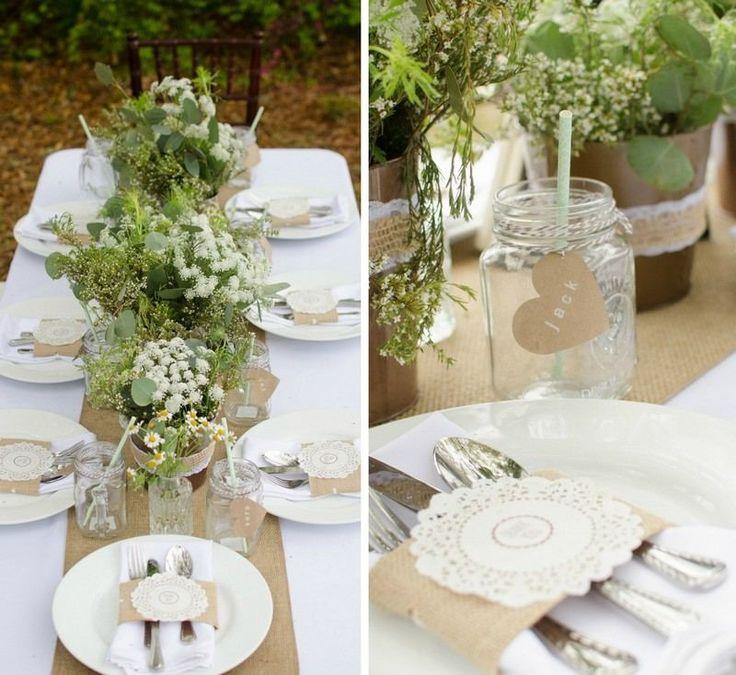 décoration mariage automne en plein air thème nature