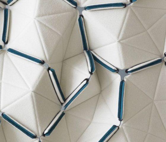 Innovative textiles design interlocking geometric fabric for Object pool design pattern