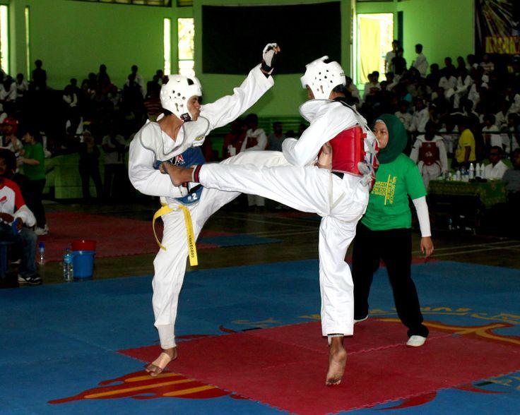 taekwondo fight