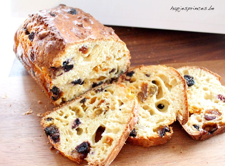spelt-yoghurtbrood met rozijnen - Gezond brood - Gezond rozijnenbrood Suuuperlekker!