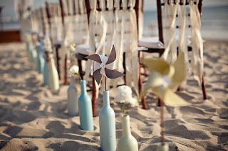 Exciting Pinwheel Wedding Ideas - Lots of love, Susan
