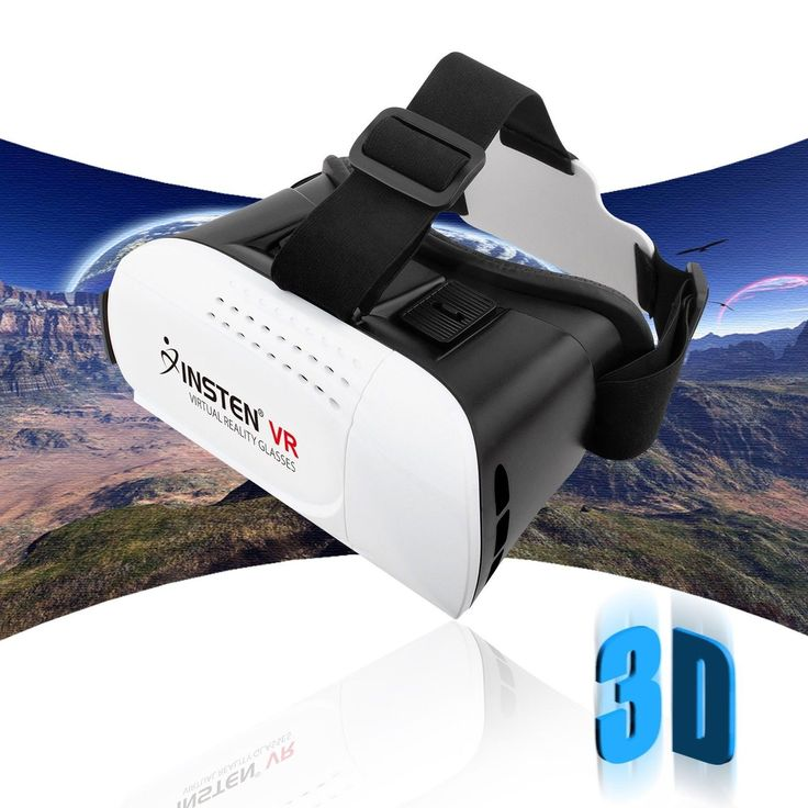 Insten [Adjustable] 3D Glasses Virtual Reality Headset VR box For Google Card...