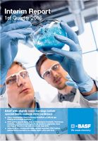 Front page of the Q1 2016 report from BASF