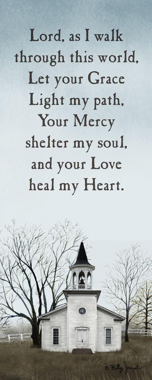 Lord as I walk...: