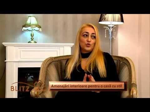 Designer - Gabriela Nechifor | Interviu emisiune tv / Design interior - ...