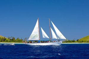 "NZ$135/ adult only -SeaSpray Day Sailing Adventure -from Mana Island Resort: 10:30am, returning 4:30pm  -Classic 83 foot schooner Seaspray for a day exploring the waters, beaches and lagoons of the Mamanuca Islands of Fiji. FOOD & UNLIMITED DRINKS INCLD ""include morning & afternoon tea plus a delicious barbecue lunch. All your drinks are included as well with wine, beer, soft drinks, tea & coffee available throughout the day whilst on Seaspray."" •Snorkelling gear included •Island village…"