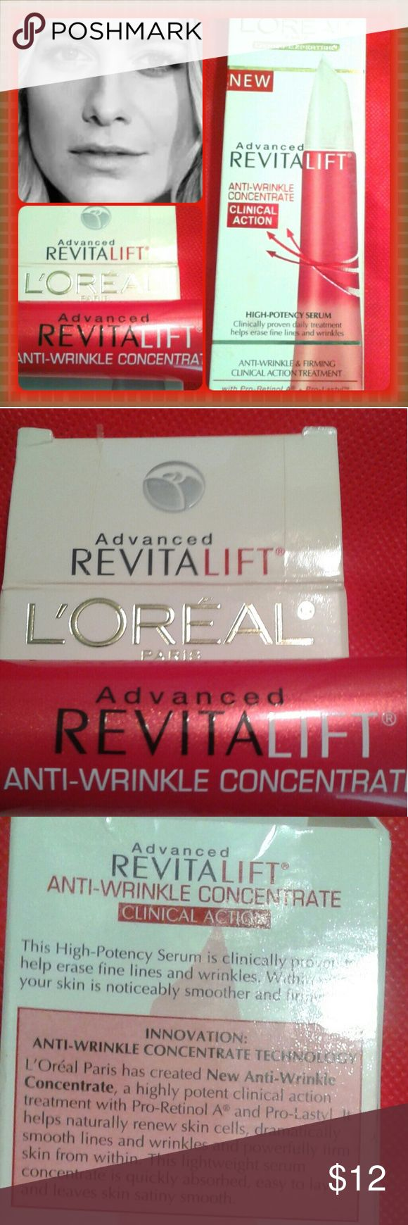 Loreal ( SALE L'Or?al Wrinkle Cream /not used /Sealed / L'OR?AL Makeup Eye Primer