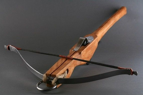 "I've no idea of the draw weight. - ""Medieval CROSSBOW"" by ARMORS; $200.00 USD on Etsy"